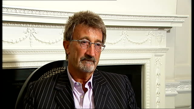F1 Lewis Hamilton world championship Eddie Jordan interview Eddie Jordan interview continued SOT Sure that is truehe is the first black driver it...