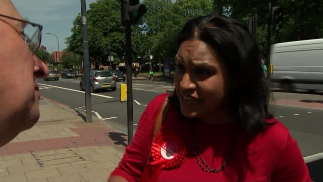 Janet Daby selected as Labour candidate UK London By election campaigning in Lewisham East / Janet Daby Ross Archer Lucy Salek Rosamund...