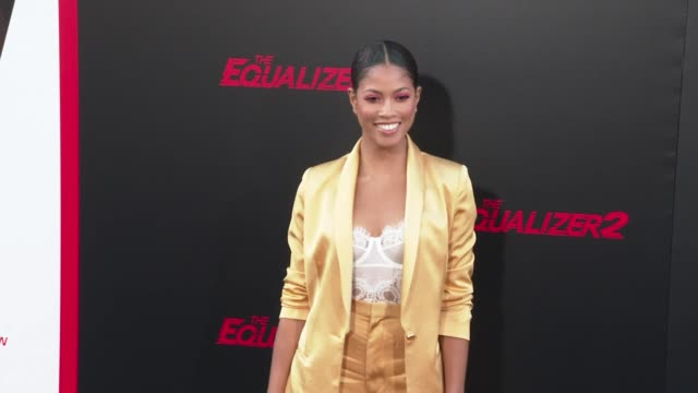 Lex Scott Davis at the 'The Equalizer 2' Premiere at TCL Chinese Theatre on July 17 2018 in Hollywood California