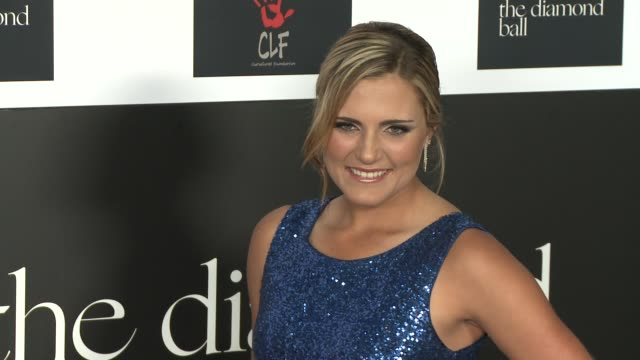 Lexi Thompson at the 2nd Annual Diamond Ball at Barker Hangar on December 10 2015 in Santa Monica California