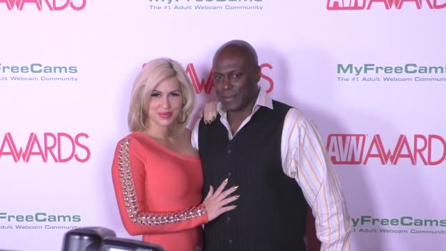 Lexington Steele Savana Styles at the 2017 AVN Awards Nomination Party at Avalon Nightclub on November 17 2016 in Hollywood California