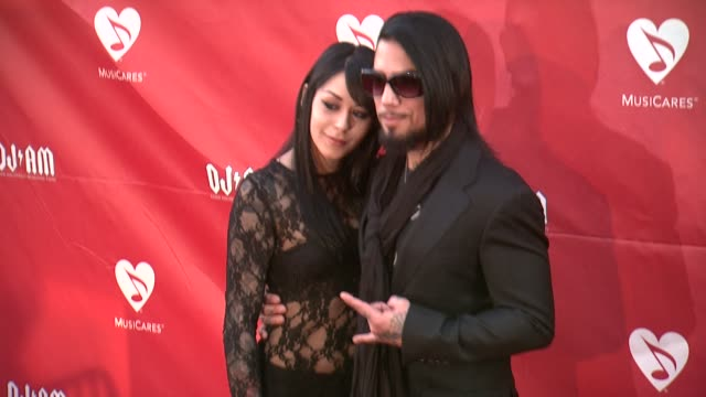 Lexus Amanda Dave Navarro at 2014 10th Annual MusiCares MAP Fund Benefit Concert Arrivals at Club Nokia on May 12 2014 in Los Angeles California