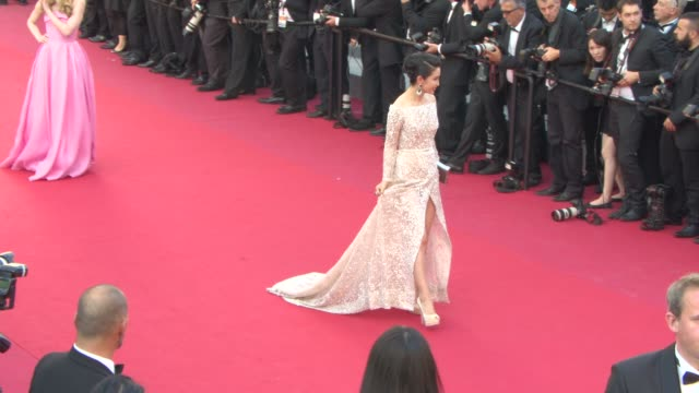 Li Bingbing at 'Carol' Red Carpet at Palais des Festivals on May 17 2015 in Cannes France