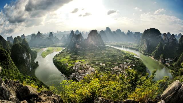 Li-HD Zeitraffer. Guilin. Guangxi. China