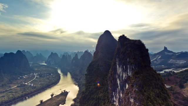 Li river in the Morning,guilin,China