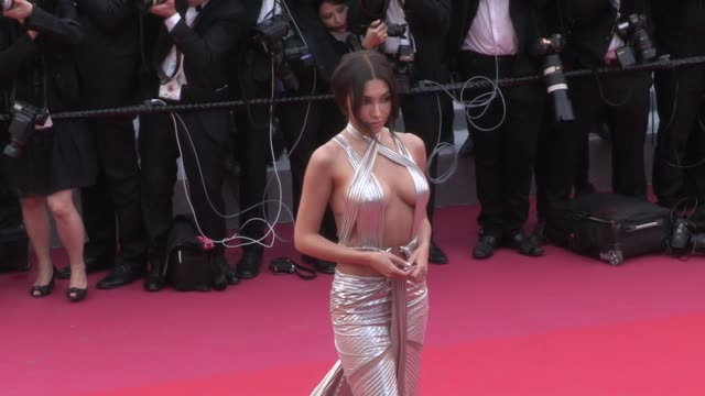 li yuchun cecile de france annabelle belmondo chantelle jeffries and more on the red carpet for the opening ceremony of the cannes film festival 2018... - 71st international cannes film festival stock videos & royalty-free footage