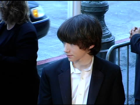 liam aiken at the 2005 critics' choice awards at the wiltern theater in los angeles california on january 10 2005 - wiltern theatre stock videos and b-roll footage