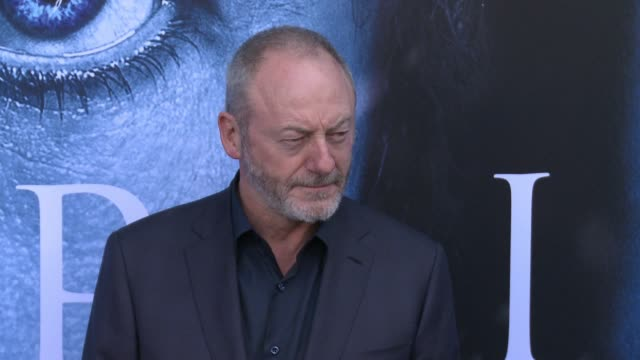 liam cunningham at 'game of thrones' season 7 premiere at walt disney concert hall on july 12 2017 in los angeles california - liam cunningham stock videos & royalty-free footage
