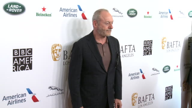 liam cunningham at the beverly hilton hotel on september 21 2019 in beverly hills california - liam cunningham stock videos & royalty-free footage