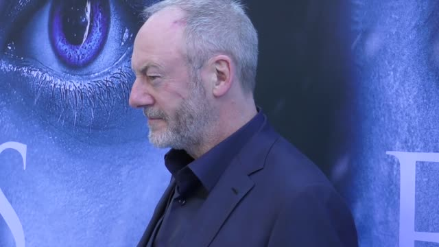 liam cunningham at the 'game of thrones' season 7 premiere at walt disney concert hall on july 12 2017 in los angeles california - liam cunningham stock videos & royalty-free footage