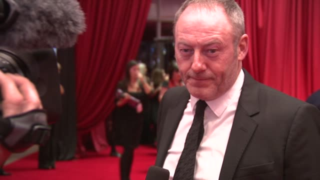 liam cunningham at the iftas at convention centre dublin ireland on february 11th 2012 - liam cunningham stock videos & royalty-free footage