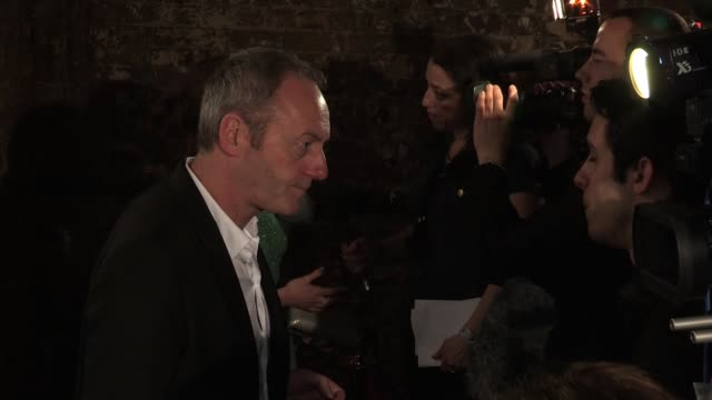 liam cunningham at the old vic tunnels on february 29 2012 in london england - liam cunningham stock videos & royalty-free footage