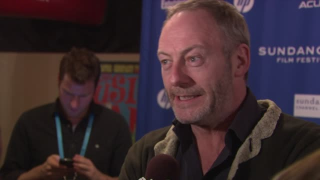 liam cunningham at the 'the guard' premiere 2011 sundance film festival at park city ut - liam cunningham stock videos & royalty-free footage