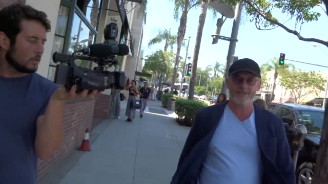 interview liam cunningham on nudity in 'game of thrones' while shopping in beverly hills at celebrity sightings in los angeles on july 14 2017 in los... - liam cunningham stock videos & royalty-free footage