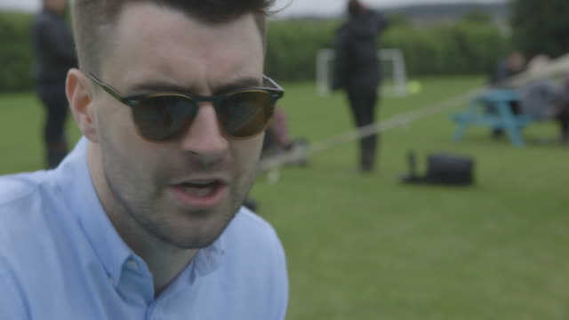 INTERVIEW Liam Fray from The Courteeners on Glastonbury at INTERVIEW Liam Fray from The Courteeners on Glas at Worthy Farm on June 28 2013 in...