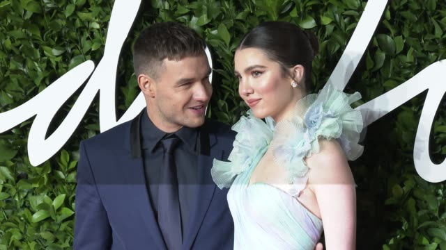 liam payne and maya henry at the fashion awards 2019 at royal albert hall on december 2 2019 in london england - award stock videos & royalty-free footage