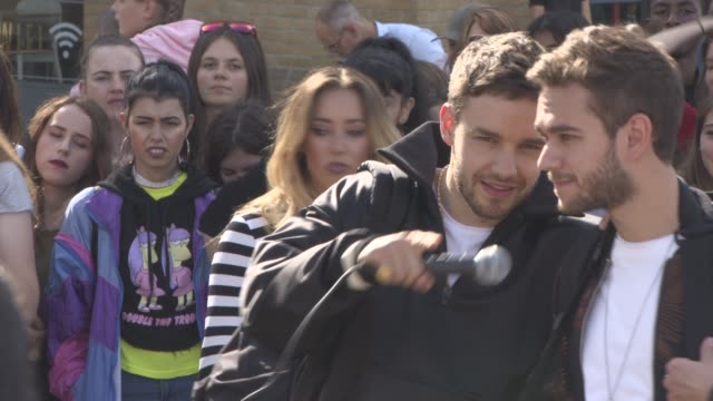 liam payne at celebrity sightings in london on august 15 2017 in london england - liam payne stock videos and b-roll footage