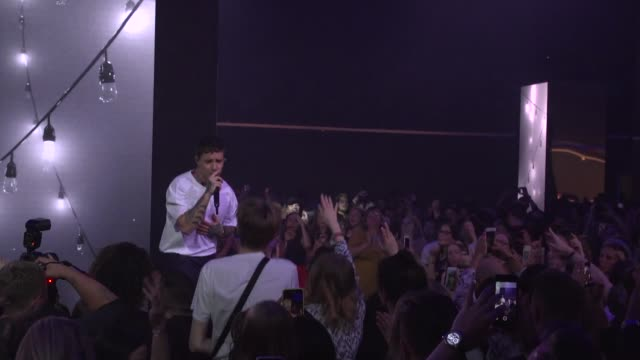 liam payne at the hugo launch party with live performance by liam payne during the berlin fashion week spring/summer 2020 at wriezener karree on july... - liam payne stock videos and b-roll footage