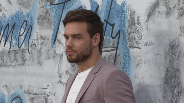 liam payne at the summer party 2019 presented by chanel serpentine galleries at the serpentine gallery on june 25 2019 in london england - textile stock videos & royalty-free footage