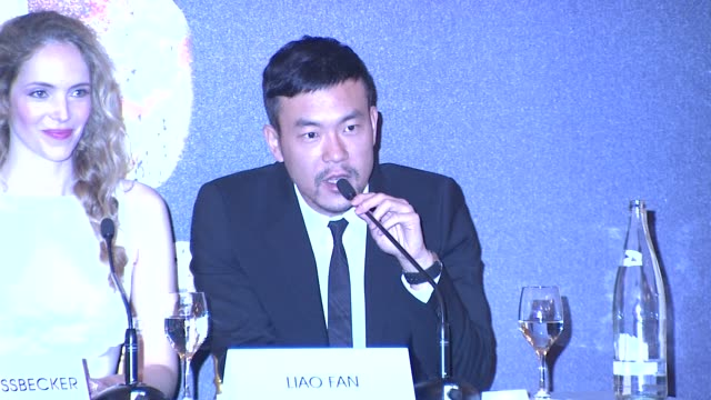 Liao Fan on his character working with Jackie Chan at Chinese Zodiac Press Conference 65th Cannes Film Festival on May 18 2012 in Cannes France