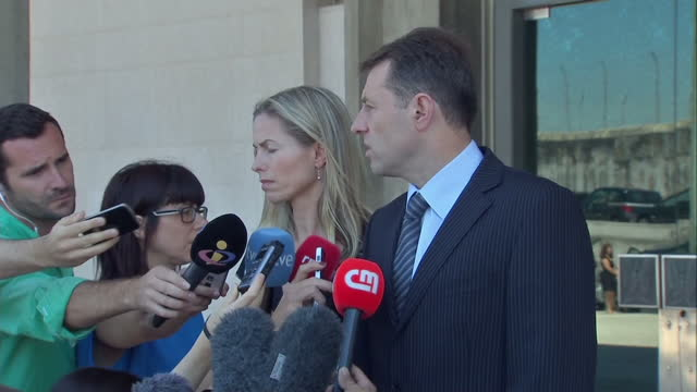 libel trial resumes in which kate and gerry mccann are suing former portuguese police chief goncalo amaral who led the search for their daughter... - madeleine mccann stock videos & royalty-free footage