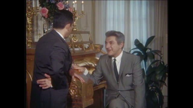 liberace inside liberace's home - pianist stock videos & royalty-free footage
