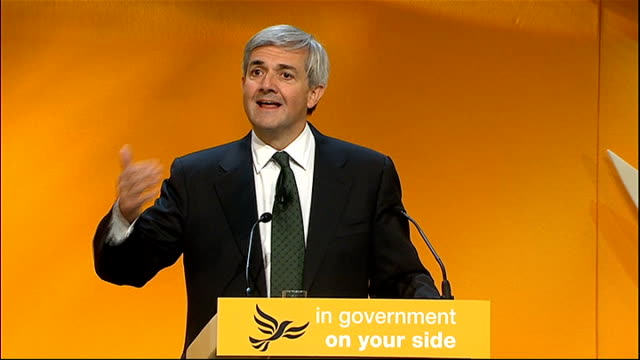 Energy Secretary speech Chris Huhne MP speech SOT Let me make another point about our Coalition Whatever we think of the Conservative campaign in the...