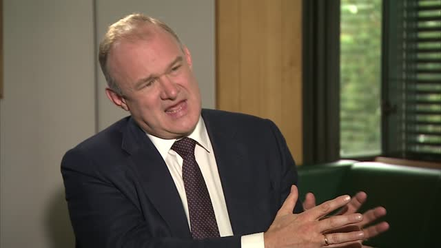 liberal democrat leader calls again for cressida dick's resignation; england: int sir ed davey mp interview sot on his party having best policy and... - politics stock videos & royalty-free footage