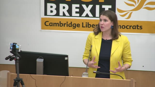 liberal democrat leadership candidate jo swinson saying the party needs to be part of a liberal movement against nationalism and populism the likes... - populism stock videos and b-roll footage
