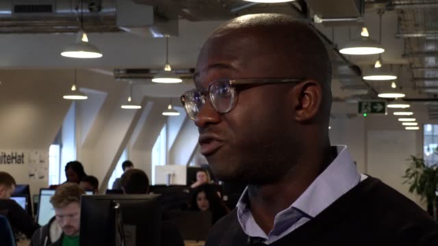 liberal democrat parliamentary candidate sam gyimah has announced the party's proposal for a new 'skills wallet' scheme which they say will provide... - british liberal democratic party stock videos & royalty-free footage