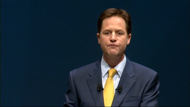 Nick Clegg keynote speech Nick CLegg speech continued SOT The same approach financial freedom is governing our relationship with Scotland and Wales...
