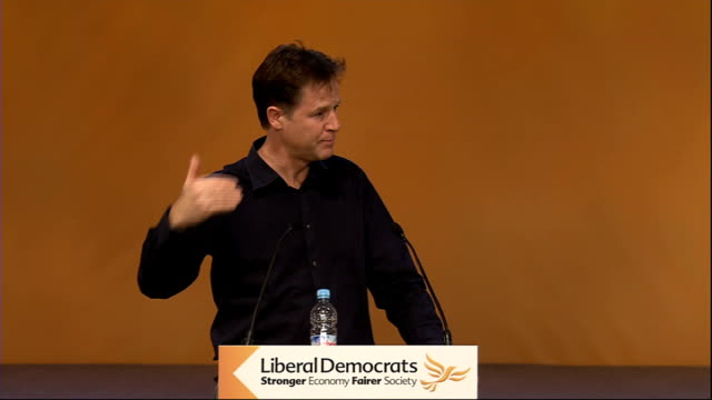 Nick Clegg QA session Nick Clegg SOT re ROYAL CHARTER ON PRESS REGULATION LEVESON I don't think it is [a lame duck] What was ingenious about Leveson...