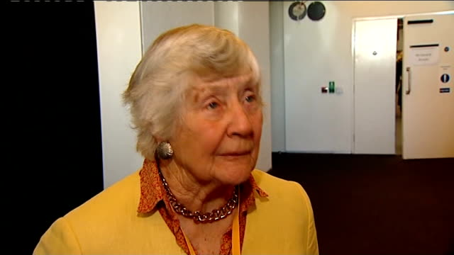 liberal democrat spring conference: health and social care bill causes dissent; baroness williams interview sot - i see it as a small defeat not a... - itv weekend late news点の映像素材/bロール