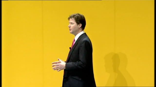 Nick Clegg delivers first major speech as leader What will it look like this new Britain First the great monoliths of centrallyrun bureaucracies must...