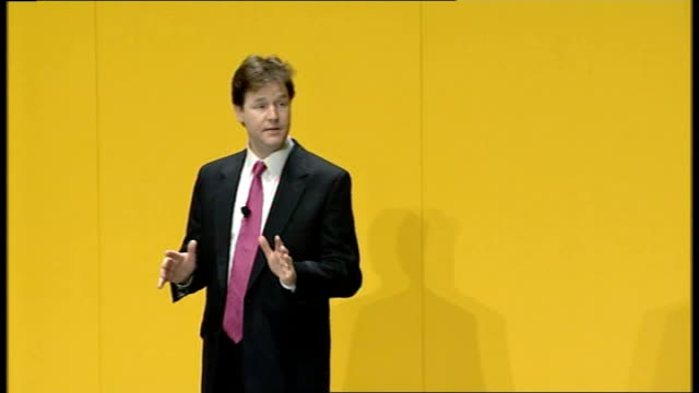 Nick Clegg delivers first major speech as leader I am not just talking about electoral reform A change in our voting system is a vital part of what...