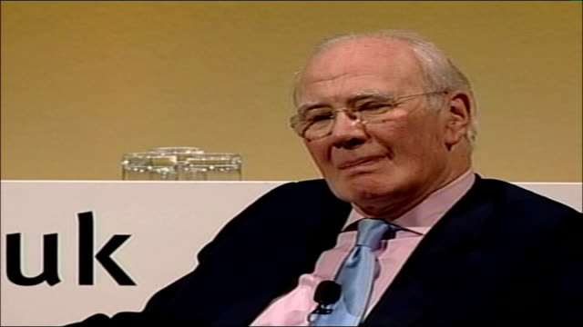 liberal democrats first party conference with sir menzies campbell as leader hilton metropole hotel liberal democrats conference int sir menzies... - sir menzies campbell bildbanksvideor och videomaterial från bakom kulisserna