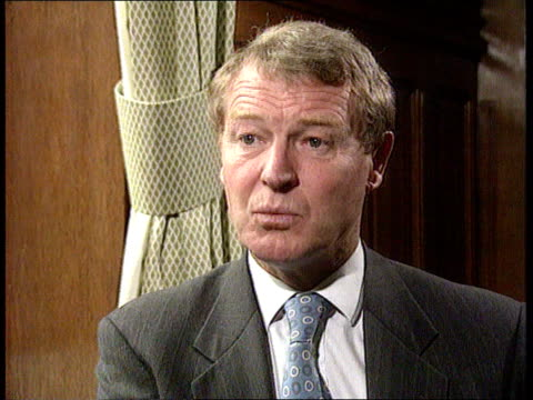liberal democrats london cms paddy ashdown mp intvwd sot we have a mountain to climb but we are climbing it cms brunson i/c sot sign off - strohhut stock-videos und b-roll-filmmaterial