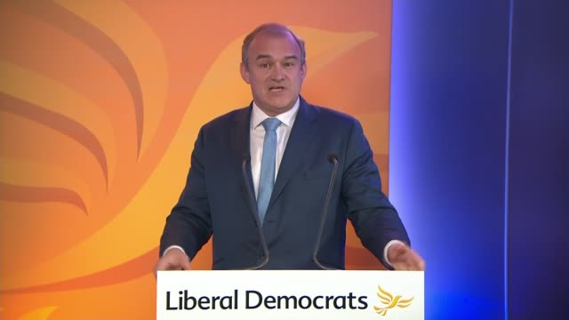 liberal democrats online conference 2020: ed davey speech; england: london: westminster: ed davey speech sot - a society that cares for those whose... - young family stock videos & royalty-free footage