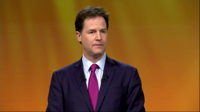 Nick Clegg speech Clegg speech SOT The second was to create the Pupil Premium a policy straight from the front page of our manifesto that targets...