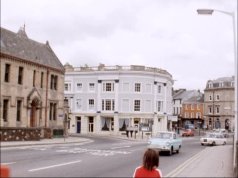 North Devon constituents call for return of Jeremy Thorpe as candidate ENGLAND North Devon Barnstaple EXT River viewed from bridge Traffic along in...