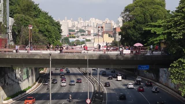 liberdade neighborhood - são paulo - liberdade stock-videos und b-roll-filmmaterial