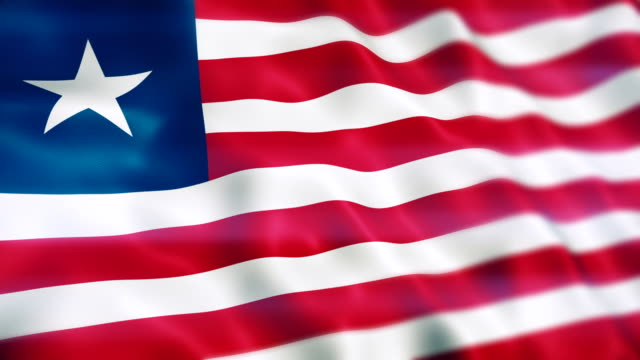 liberia flagge - politics stock-videos und b-roll-filmmaterial