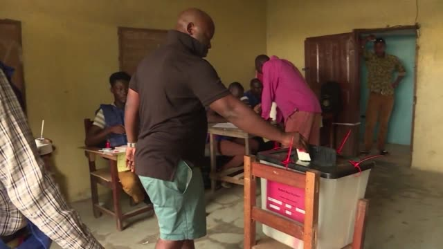 Liberians are at the polls to vote for a new president after the initial final round of voting was postponed due to a court battle