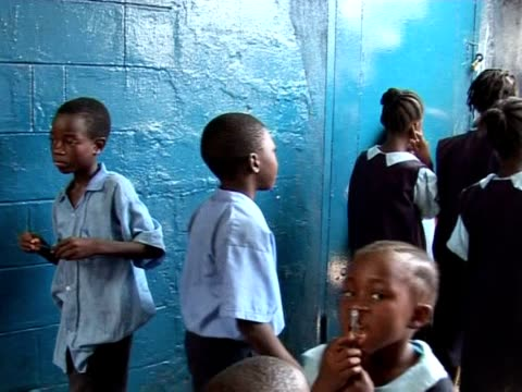 Liberia's first generation of postwar children have just started school But their aspirations are far removed from those children who witnessed the...