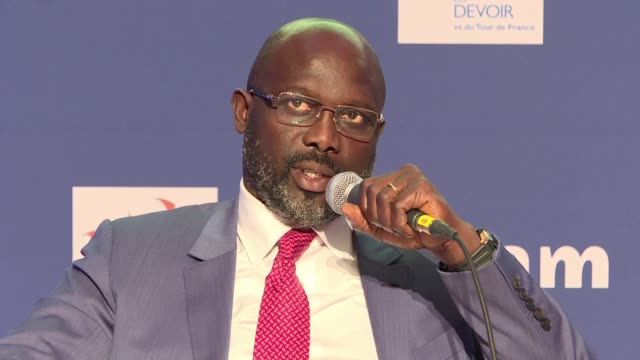 Liberia's new president the ex footballer George Weah speaks about the challenges of inheriting a very broke country and the measures needed to fix...