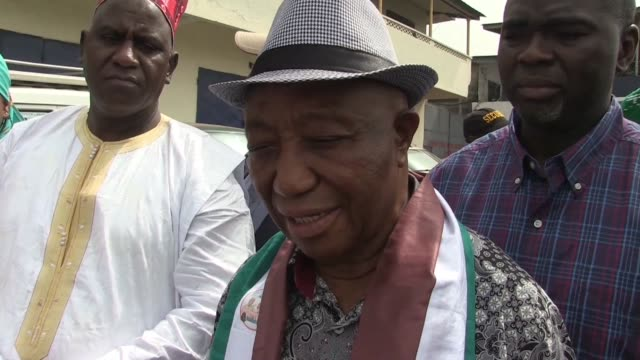 Liberia's vice president Joseph Boakai said on Sunday that he was very very confident of winning Tuesday's second round of the presidential elections...