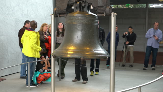 liberty bell philadelphia - school bell stock videos and b-roll footage