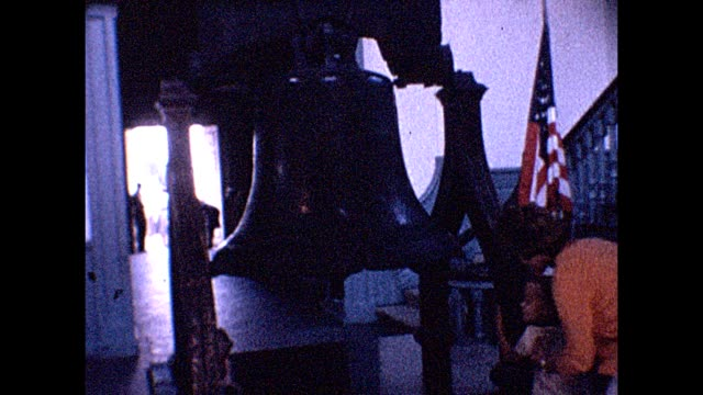 1961 liberty bell - liberty bell stock videos & royalty-free footage