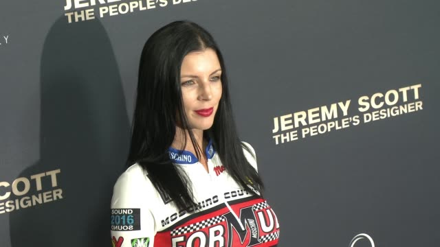 liberty ross and jimmy iovine at the jeremy scott the people's designer los angeles premiere jeremy scott and katy perry handprint ceremony at tcl... - jimmy perry stock videos and b-roll footage