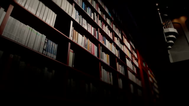 library book shelves - library stock videos & royalty-free footage